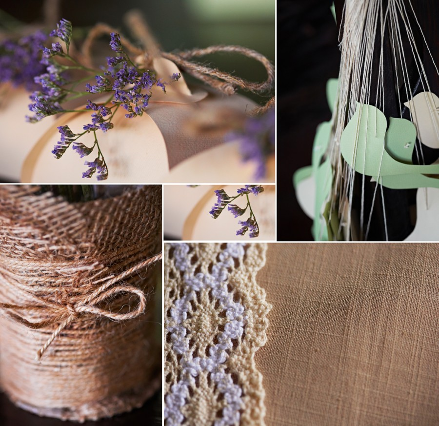 """Rustic Wedding"" details"
