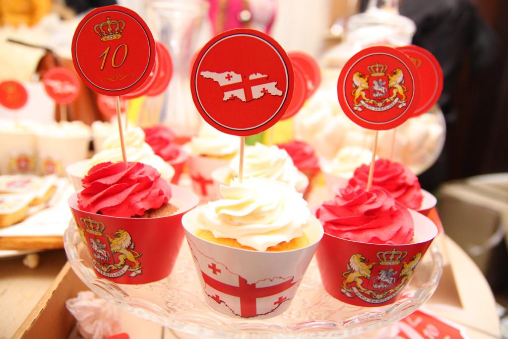 """Georgian"" birthday party, candy bar details"