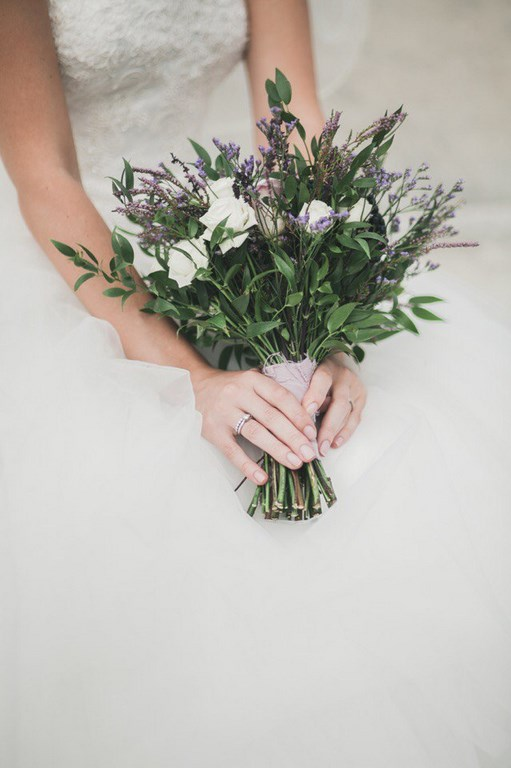 Provence bridal bouquet