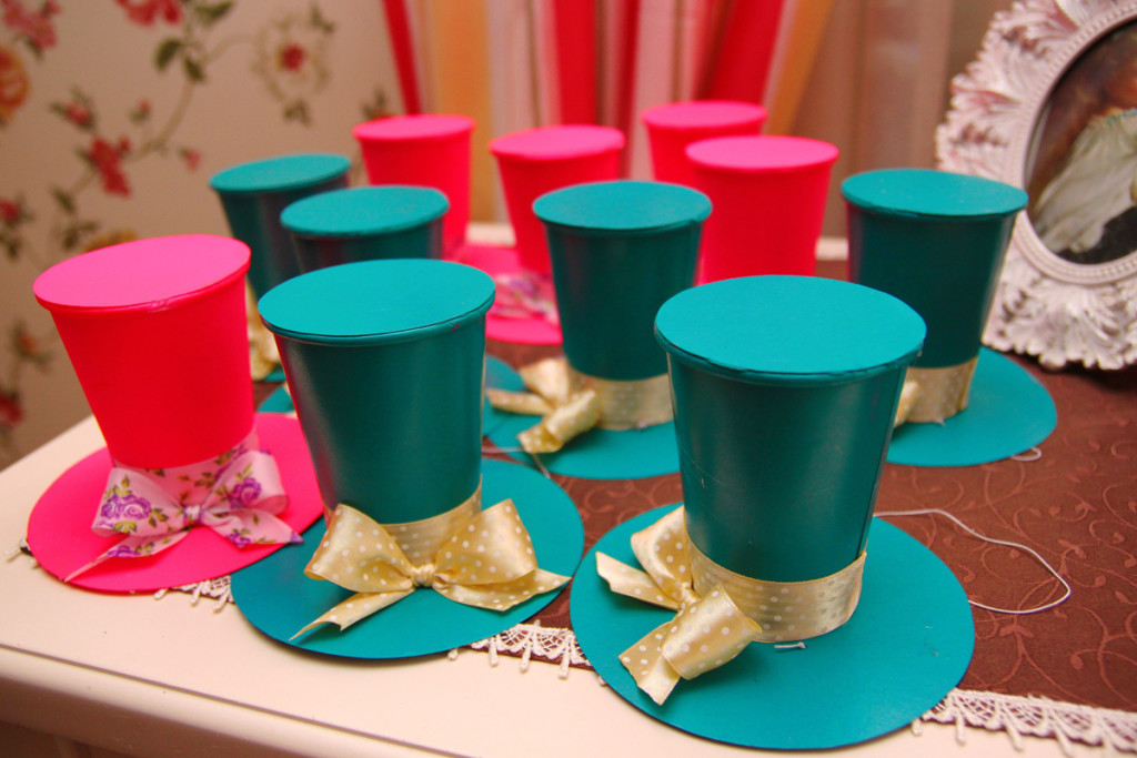 """""""Alice in Wonderland"""" birthday, party hats for kids"""