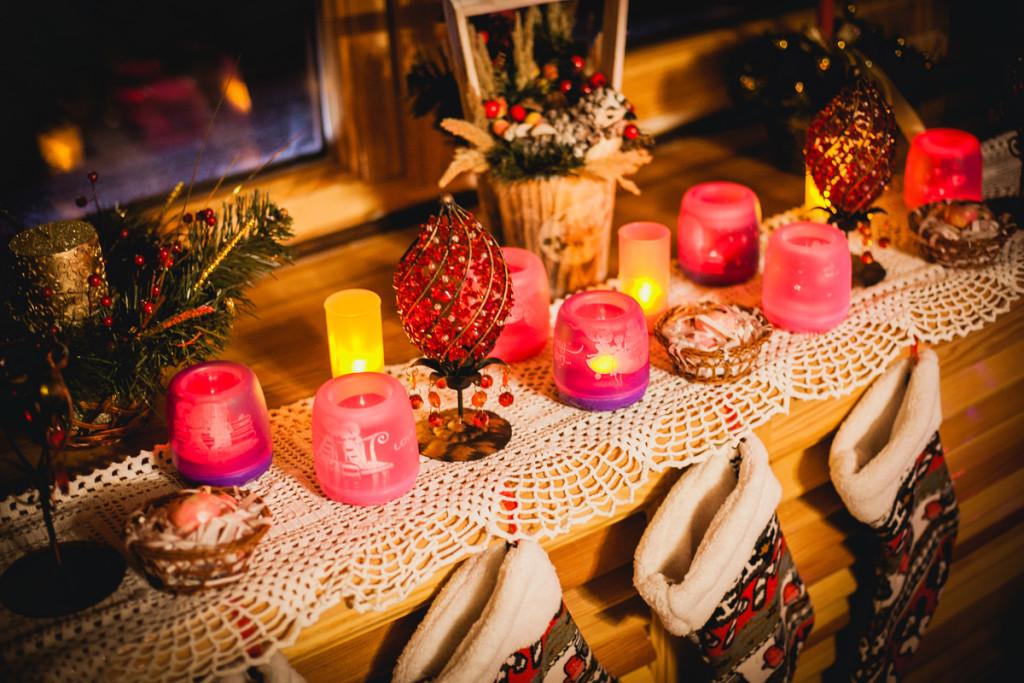 Santa Claus Village decoration details