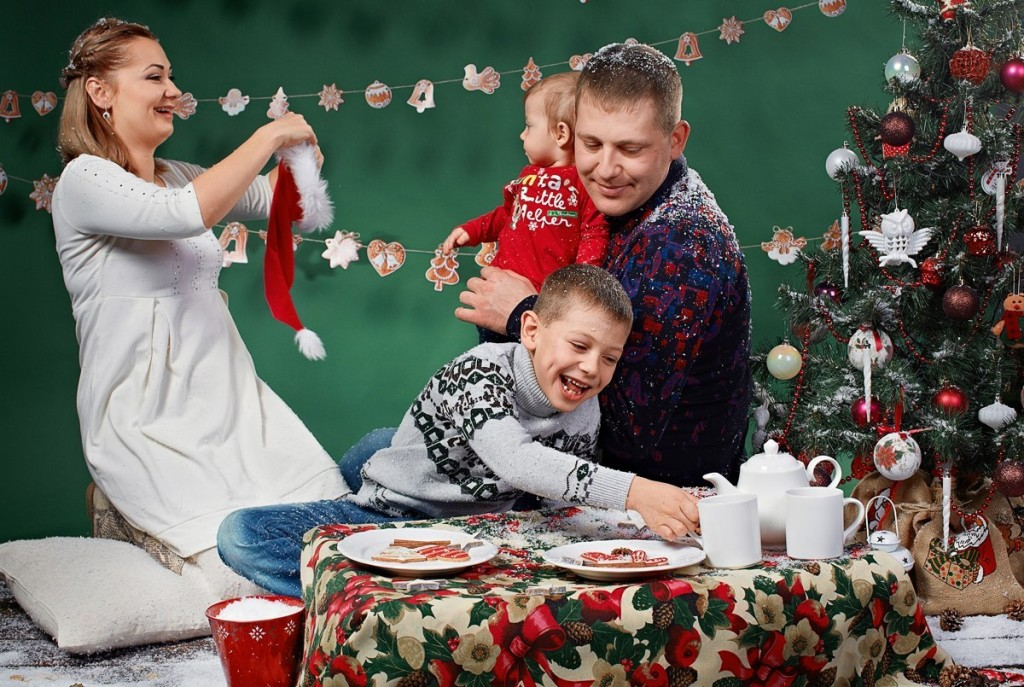 Christmas photozone decorations