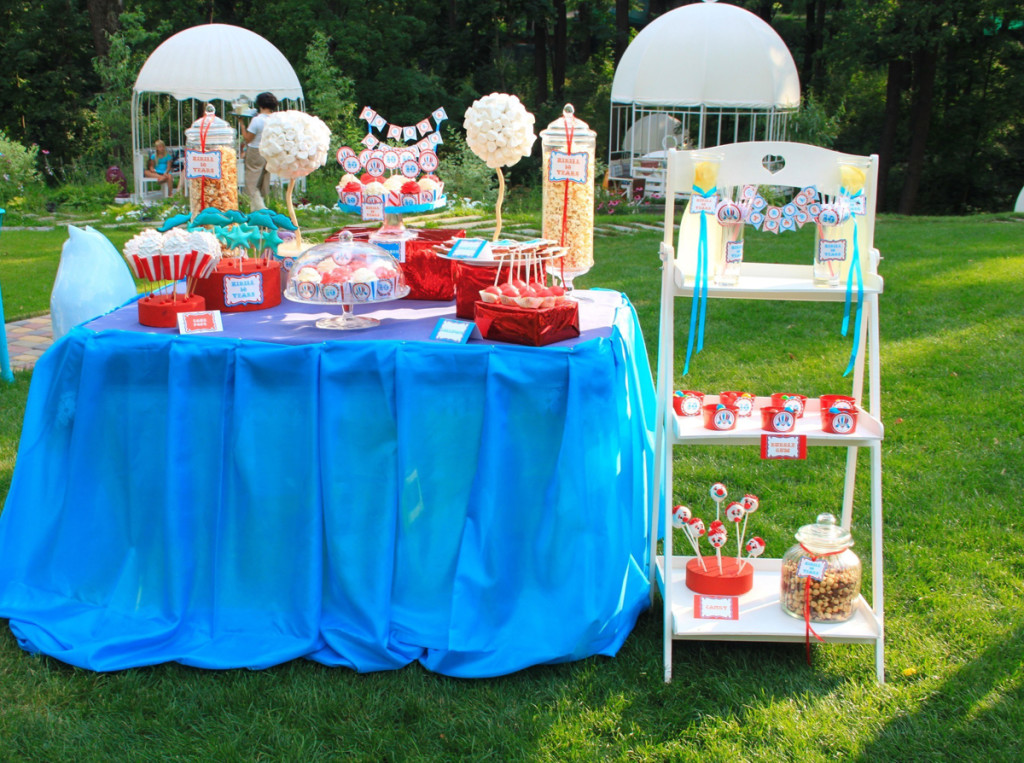 """""""Wizard of Oz"""" birthday party. Candy bar"""