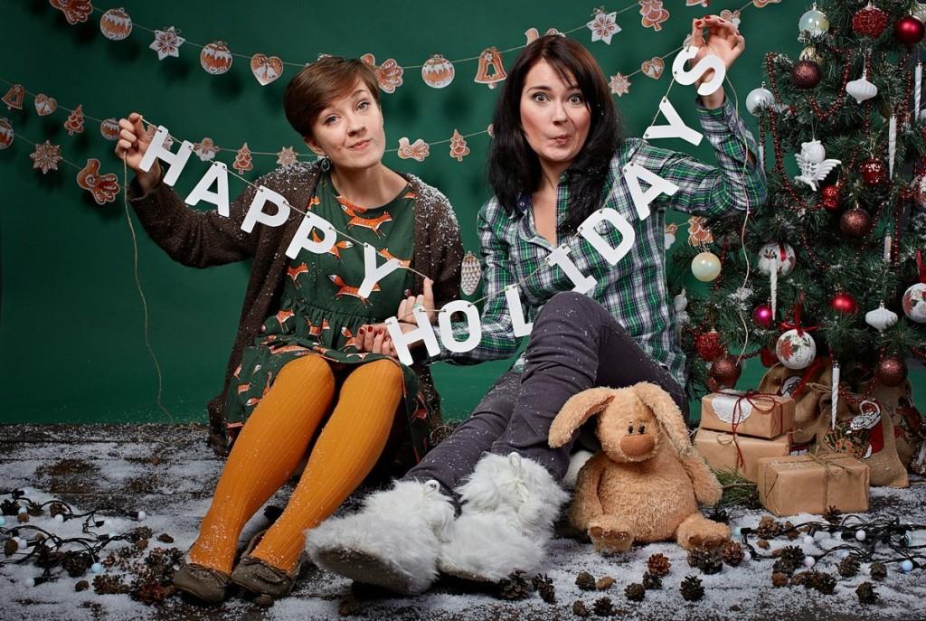 Christmas photozone & photo props
