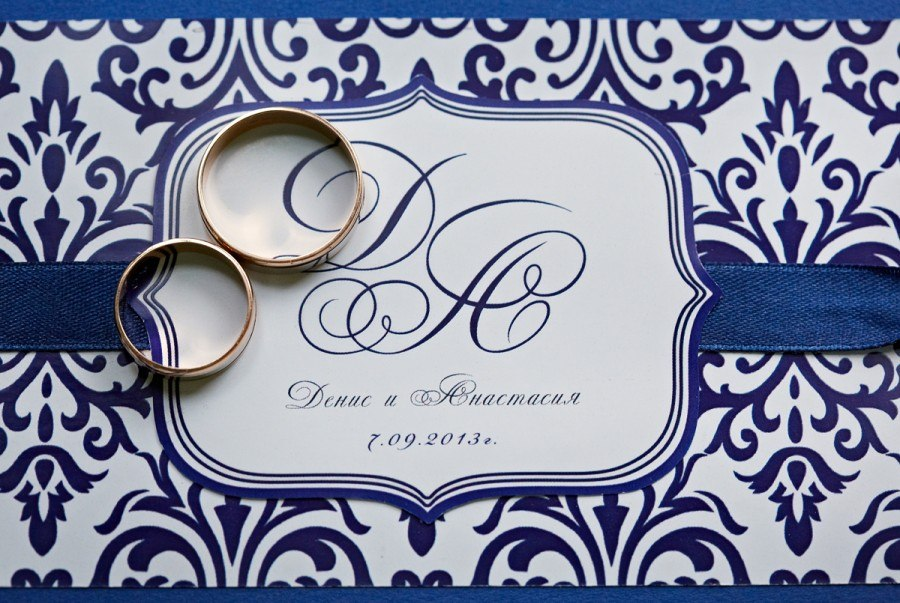 Wedding invitation element